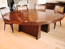 Natural Wood Dining Room Table by Most Recent Round Natural Wood Dining Table U2039 Woodensigns Info