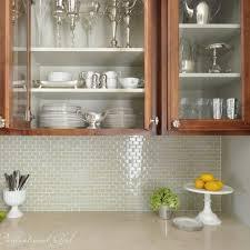 Glass Tile For Kitchen Backsplash Ideas Best 25 Glass Tile Kitchen Backsplash Ideas On Pinterest Glass