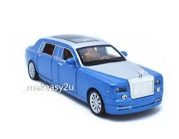 rolls royce light blue 1 32 rolls royce phantom diecast metal sound light pullback model