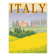 italy postcards zazzle