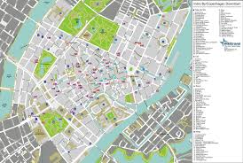 copenhagen city map infographics design design inspiration