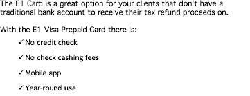 metabank prepaid cards e1card