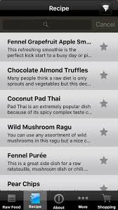 raw food diet pro healthy organic food recipes and diet tracker
