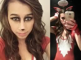 diy halloween costume what does the fox say glamorous gamer girls