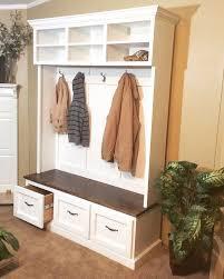 Storage Coat Rack Bench Best 25 Bench With Shoe Storage Ideas On Pinterest Shoe Bench