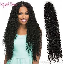 crochet black weave hair 18 curly weaves freetress curly crochet hair water wave synthetic
