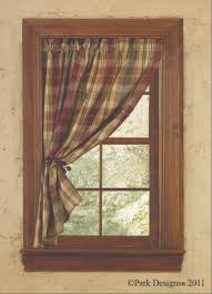 Country Curtains For Kitchen by Best 25 Primitive Curtains Ideas On Pinterest Cabin Curtains