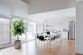 contemporary dining room decor modern italian apartment with