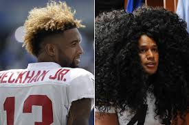 odell beckham jr haircut name odell beckham s hair gets the ultimate compliment new york post