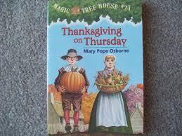 librarika thanksgiving on thursday magic tree house 27