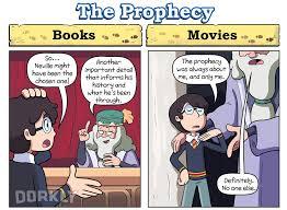 6 ways harry potter movies books
