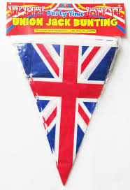 International Bunting Flags Amazon Com Union Jack Triangular Bunting 25 Pendant Flags 7m