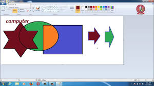 ms paint video tutorial 2015 in hindi part 1 youtube