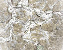Montana River Map by Localwaters Caney Fork Rivers Map Boat Ramps Charts Access Areas