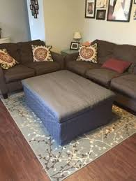 simpli home amelia storage ottoman bench brown storage ottoman