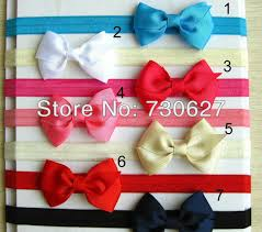 the ribbon boutique wholesale 2017 wholesale chilren flower headbands 3 3 3 5 bow satin ribbon