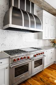double oven custom hood backsplash downsview kitchen designed