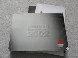 100 2002 mitsubishi montero sport repair manual the