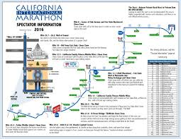 Map Your Running Route by Spectator Information Sacramento Running Association