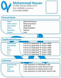resume format download in word resume sles in ms word pakistan fresh resume format download in