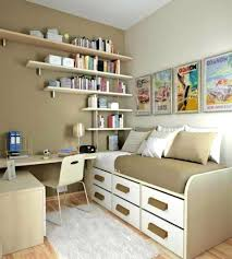 apartments glamorous small bedroom bookcase decorating ideas