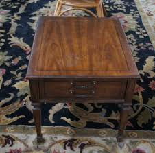 vintage drexel heritage italian provincial mahogany end side table