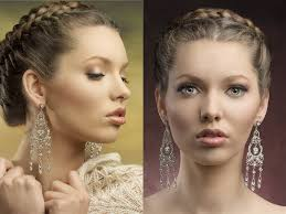braided hair styles for a rounded face type twist updo for oval and round faces 2018
