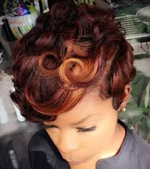 how to keep black women feather hairstyle best 25 short african hairstyles ideas on pinterest short thick
