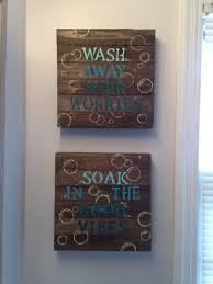 awesome diy bathroom wall decor pinterest diy scrapbook paper wall
