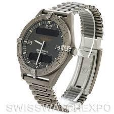 breitling titanium bracelet images Breitling aerospace titanium quartz watch jpg
