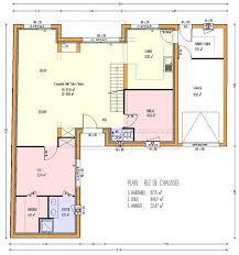 plan maison 3 chambre plain pied ordinary plan maison de plain pied 3 chambres 6 plan de maison