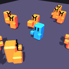 unity tutorial enemy ai battle circle ai let your player feel like they re fighting lots of