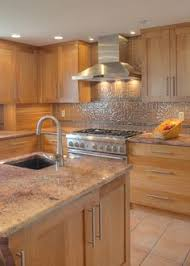 Tile Backsplash Ideas For Cherry Wood Cabinets Home by Porcelain Tile Plank Floors With Cherry Cabinets Been