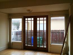 antique 7 dining room french doors on our dining room deck and