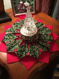 fold u0027n stitch wreath a fabric centerpiece i made up my pattern