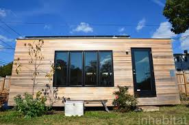 210 square foot modern tiny house with no loft