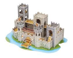 architectural model kits 3d puzzles toys