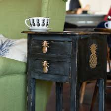 a fun shabby glam pineapple console table makeover hometalk