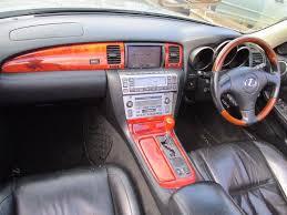 lexus sc430 warning lights 02 lexus sc430 v8 sc 430 4 3 convertible 2 owners hpi clear mot