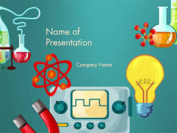 science education powerpoint template backgrounds 14744