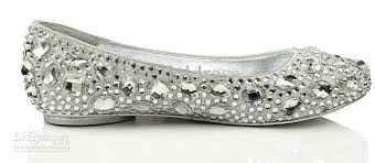 silver flats womens shoes images