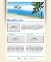 emailing template newsletter templates for travel agencies