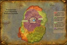 kalimdor map azeroth pre sundering a visual guide shades of grey