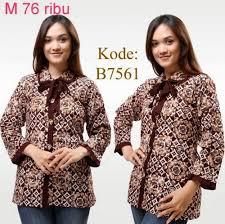 model baju atasan untuk orang gemuk 2015 model baju dan model atasan batik yang fresh dan model baju batik kerja wanita