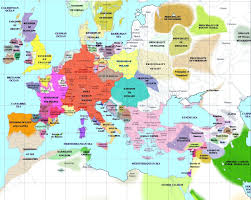 map of europe european history maps
