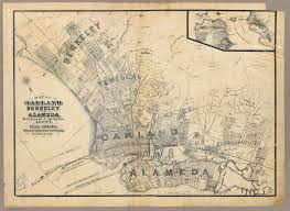 Old Map Alameda California 1884 Old Map Alamedainfo