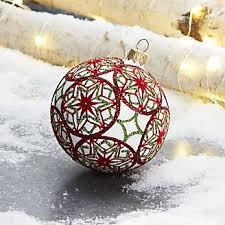 ornaments crate and barrel
