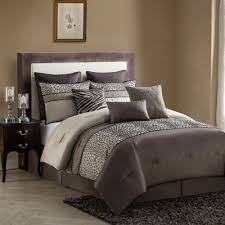 Wine Colored Bedding Sets Buy Brown Comforter Sets From Bed Bath Beyond