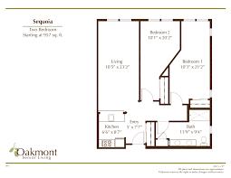 floor plans u2013 oakmont of pacific beach