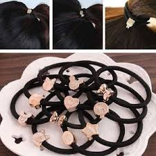 ponytail holder bracelet 10pcs elastic hair ties band ropes ring ponytail holder